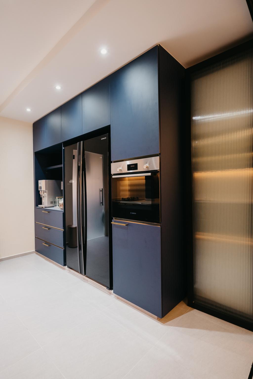 Contemporary, HDB, Kitchen, Tampines Street 82, Interior Designer, OTTOTTO