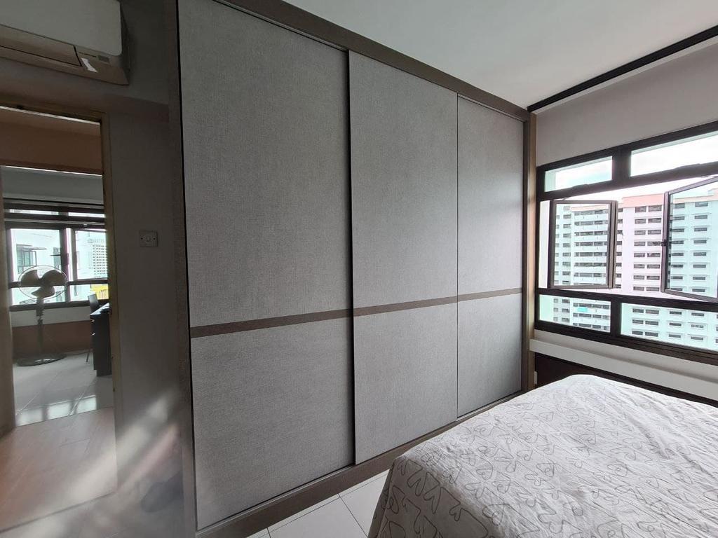 Contemporary, HDB, Bedroom, Senja Road, Interior Designer, OTTOTTO