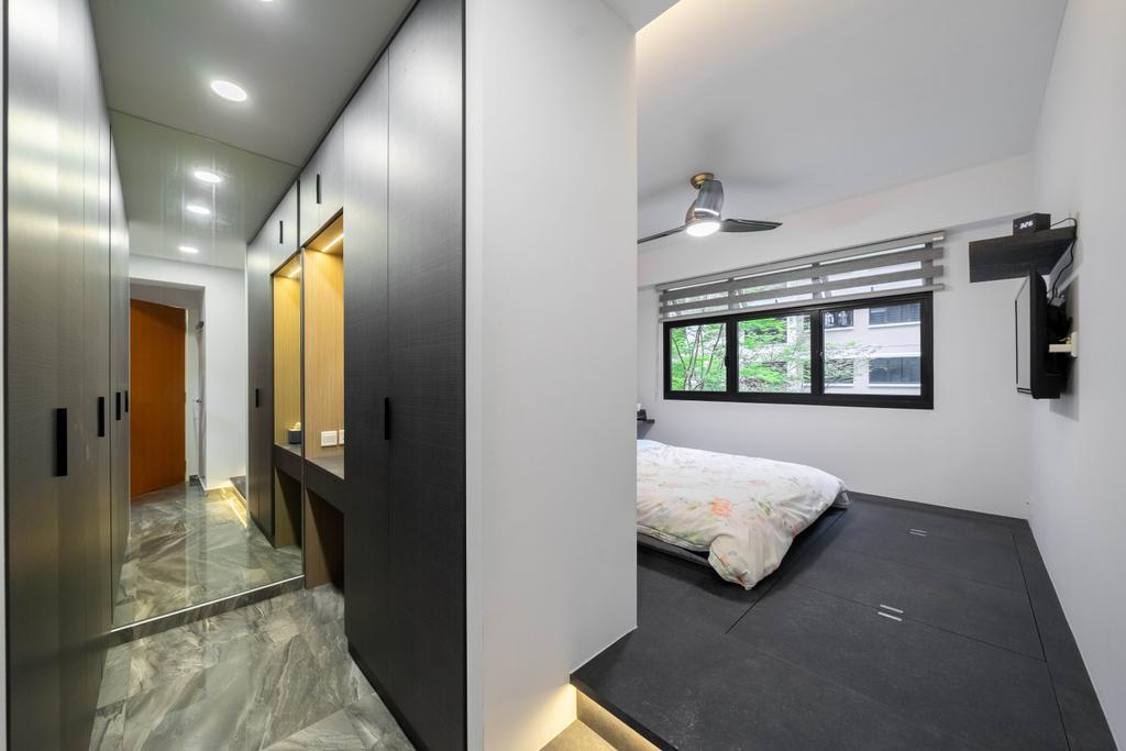 Contemporary, HDB, Bedroom, Buangkok Edgeview, Interior Designer, Design 4 Space