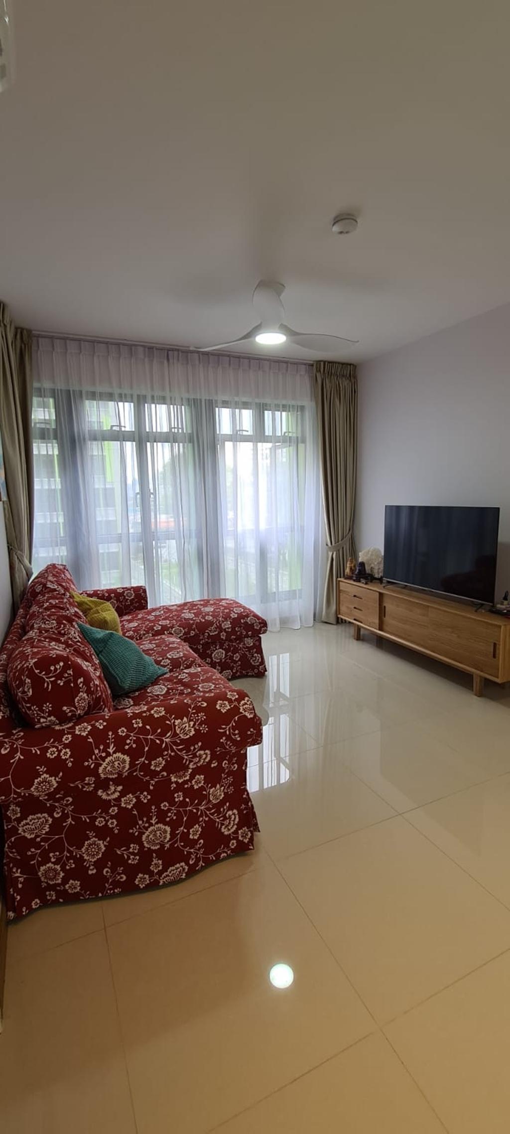 Contemporary, HDB, Living Room, Bidadari Park Drive, Interior Designer, Our Interior