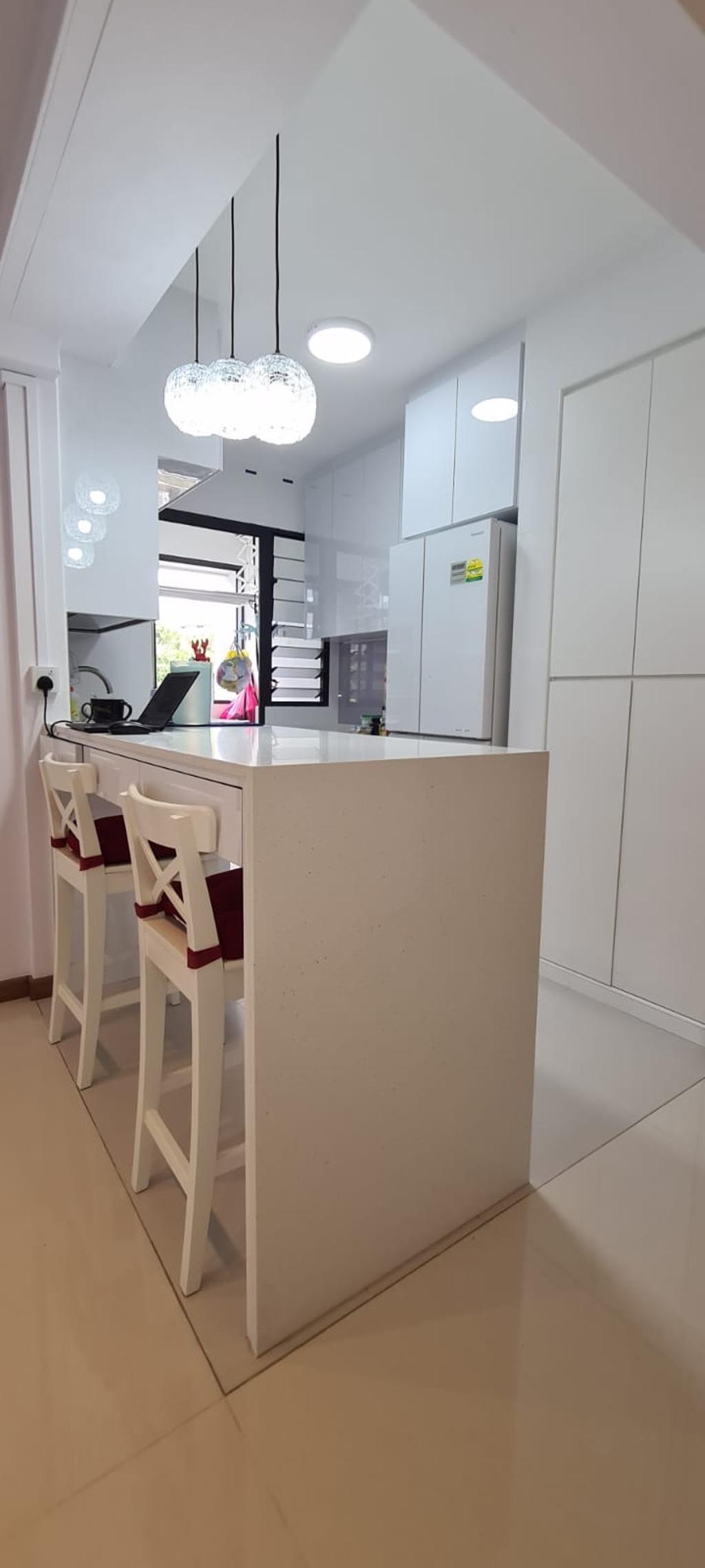 Contemporary, HDB, Dining Room, Bidadari Park Drive, Interior Designer, Our Interior