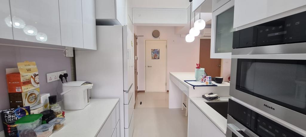 Contemporary, HDB, Kitchen, Bidadari Park Drive, Interior Designer, Our Interior