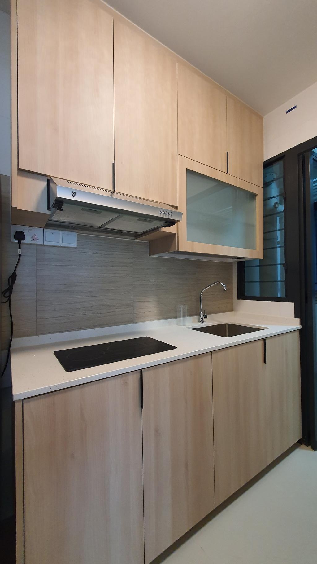 Scandinavian, HDB, Kitchen, Alkaff Crescent, Interior Designer, Our Interior