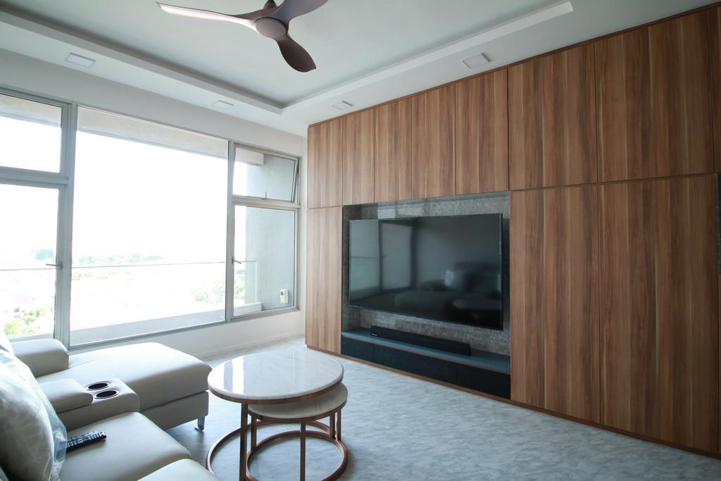 Contemporary, Condo, Living Room, Kerrisdale, Interior Designer, Our Interior