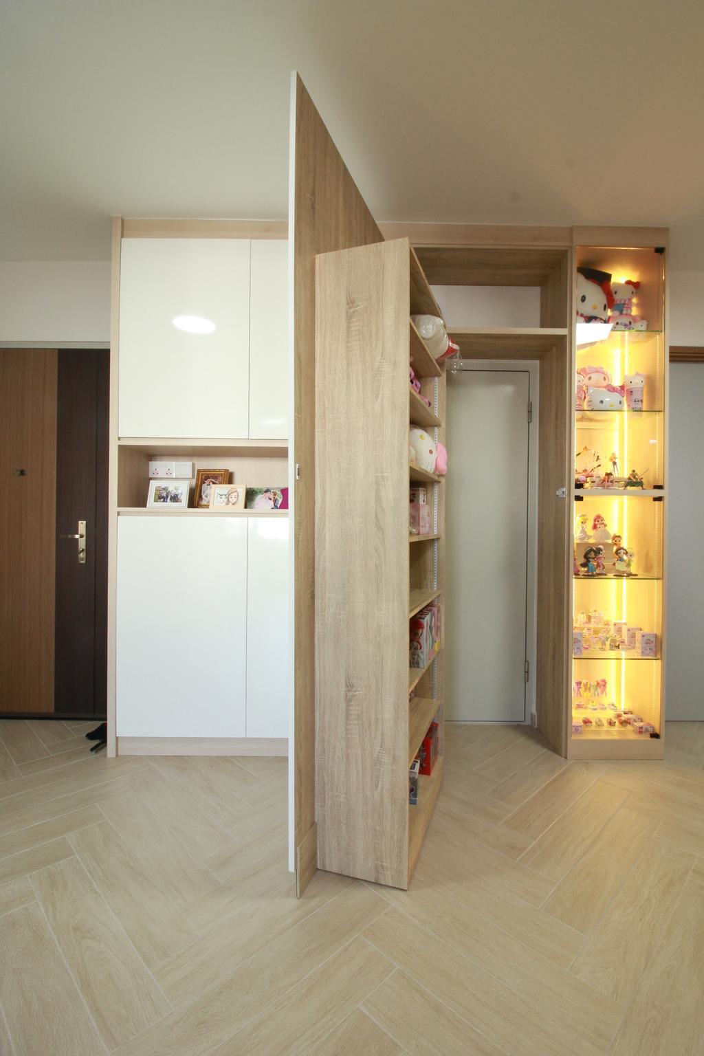 Scandinavian, HDB, Living Room, Northshore Drive, Interior Designer, Our Interior