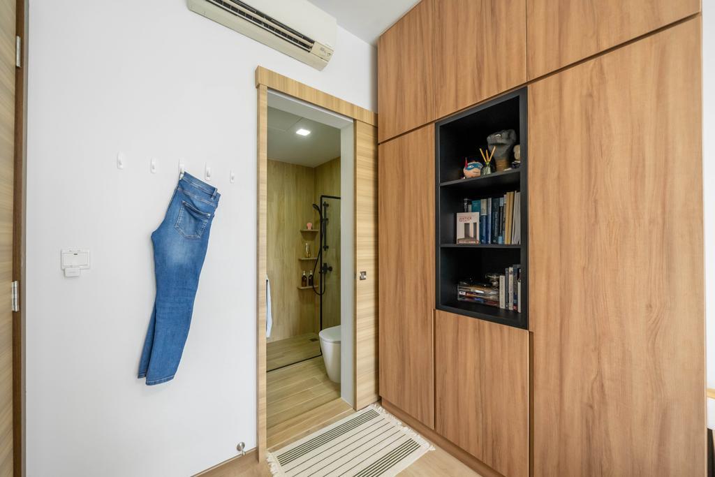 Minimalist, Condo, Bedroom, Vibes @ East Coast, Interior Designer, Design 4 Space