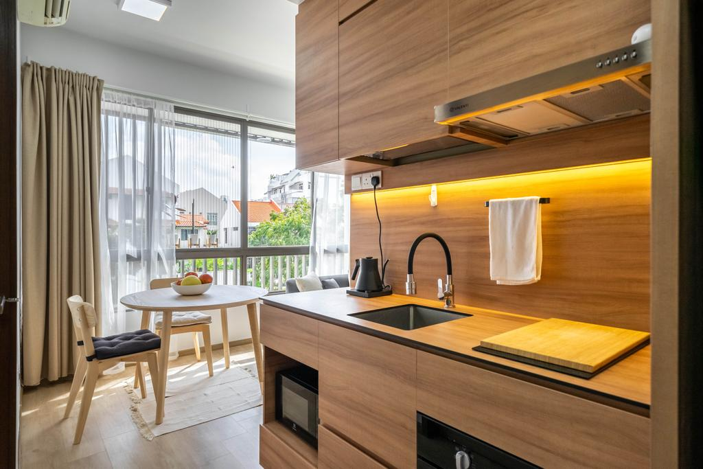 Minimalist, Condo, Kitchen, Vibes @ East Coast, Interior Designer, Design 4 Space