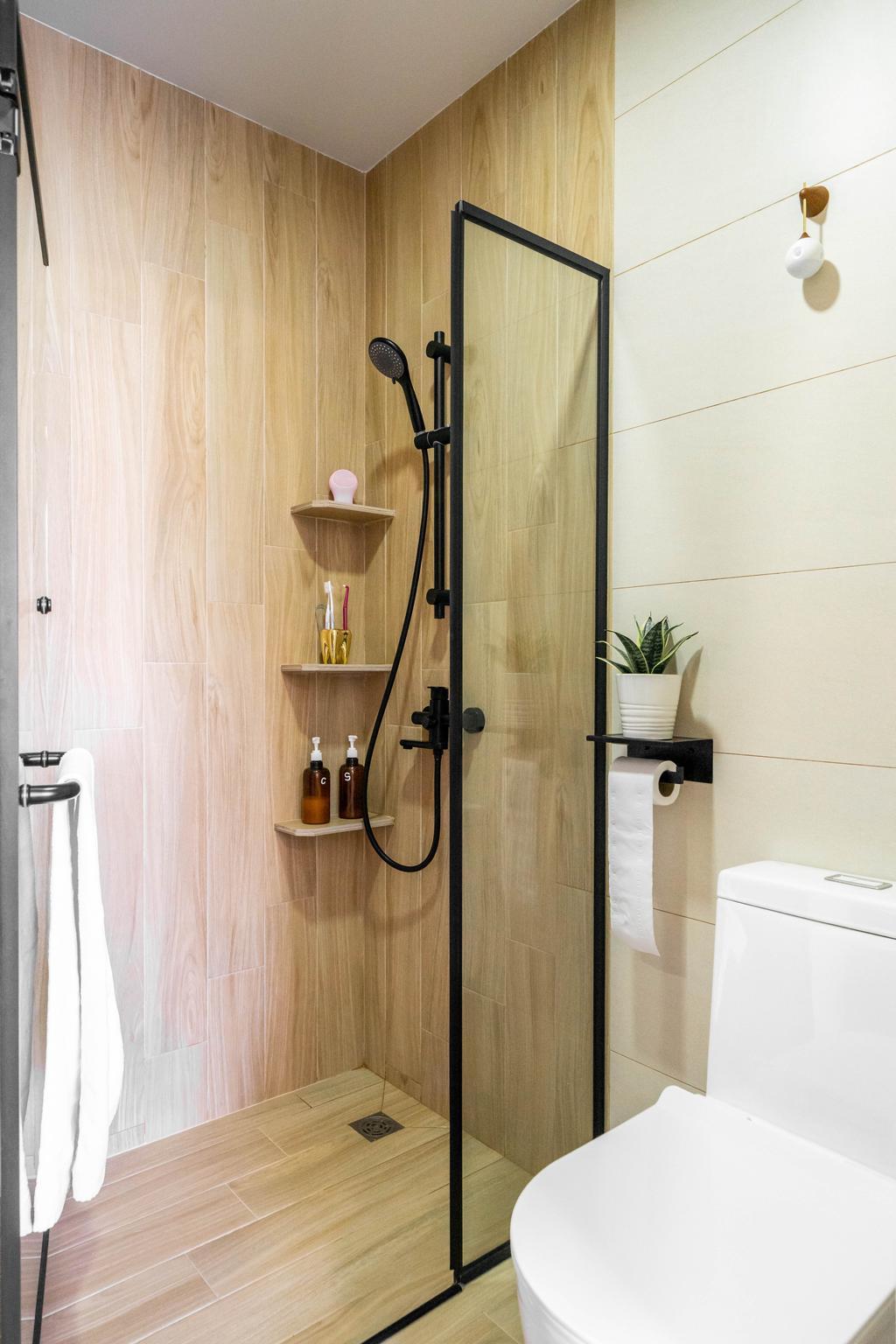 Minimalist, Condo, Bathroom, Vibes @ East Coast, Interior Designer, Design 4 Space