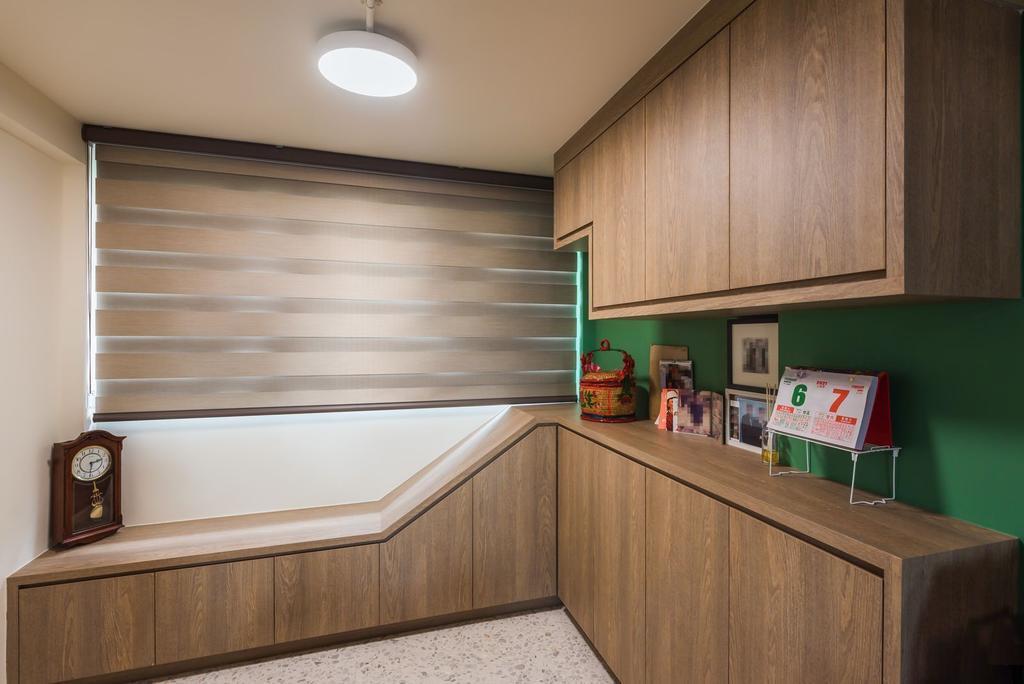 Contemporary, HDB, Living Room, Queen's Road, Interior Designer, Archive Design, Eclectic