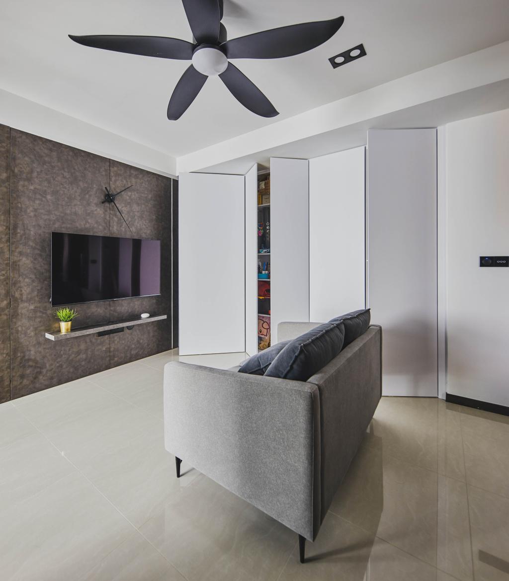 Contemporary, Condo, Living Room, The Adara, Interior Designer, MET Interior