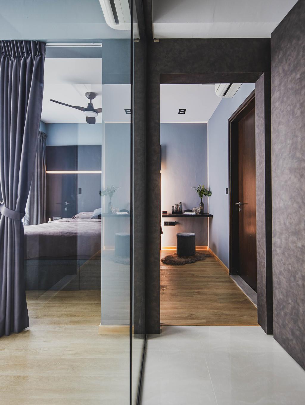 Contemporary, Condo, Bedroom, The Adara, Interior Designer, MET Interior