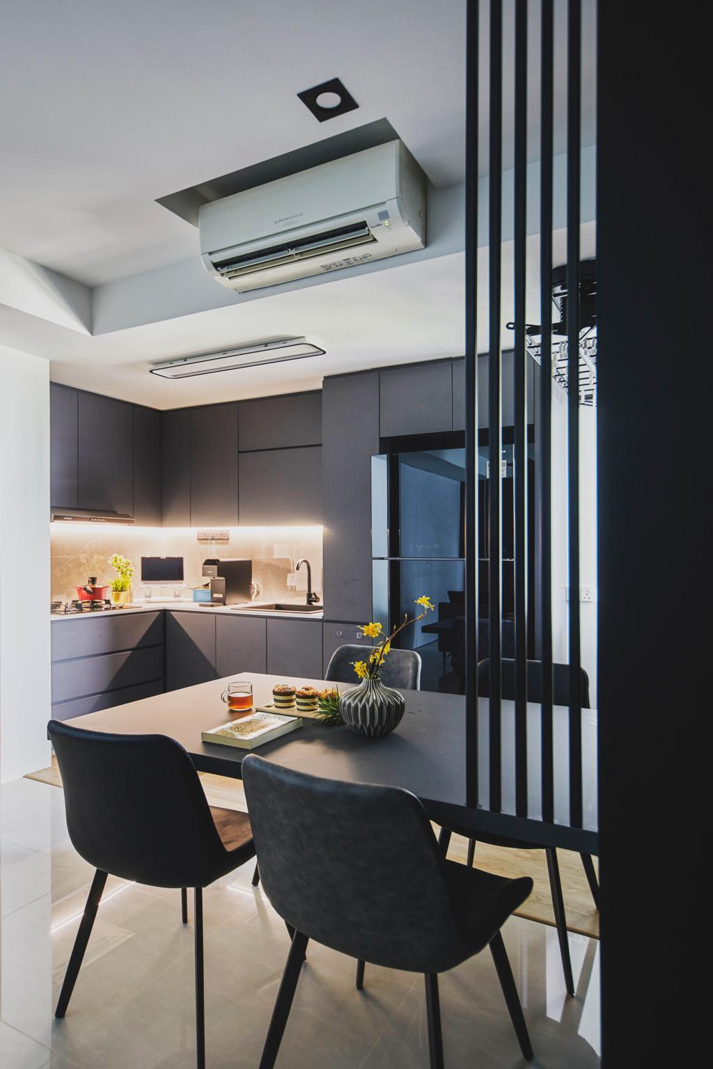 Contemporary, Condo, Dining Room, The Adara, Interior Designer, MET Interior