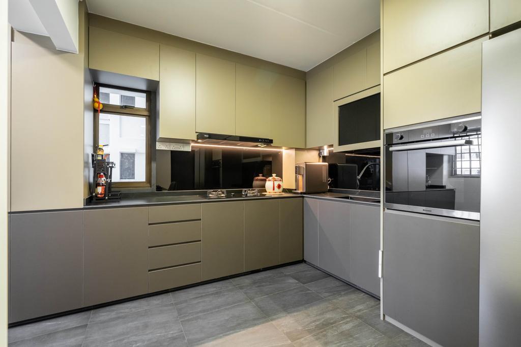 Modern, HDB, Kitchen, Lorong 7 Toa Payoh, Interior Designer, Design 4 Space, Contemporary