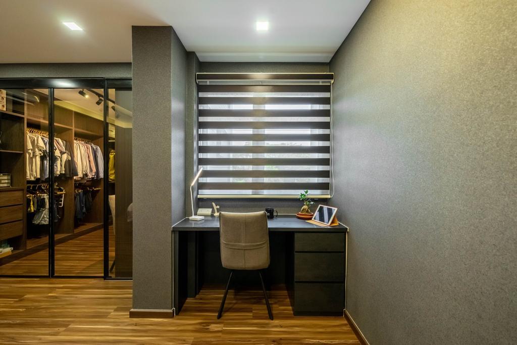 Modern, HDB, Study, Lorong 7 Toa Payoh, Interior Designer, Design 4 Space, Contemporary