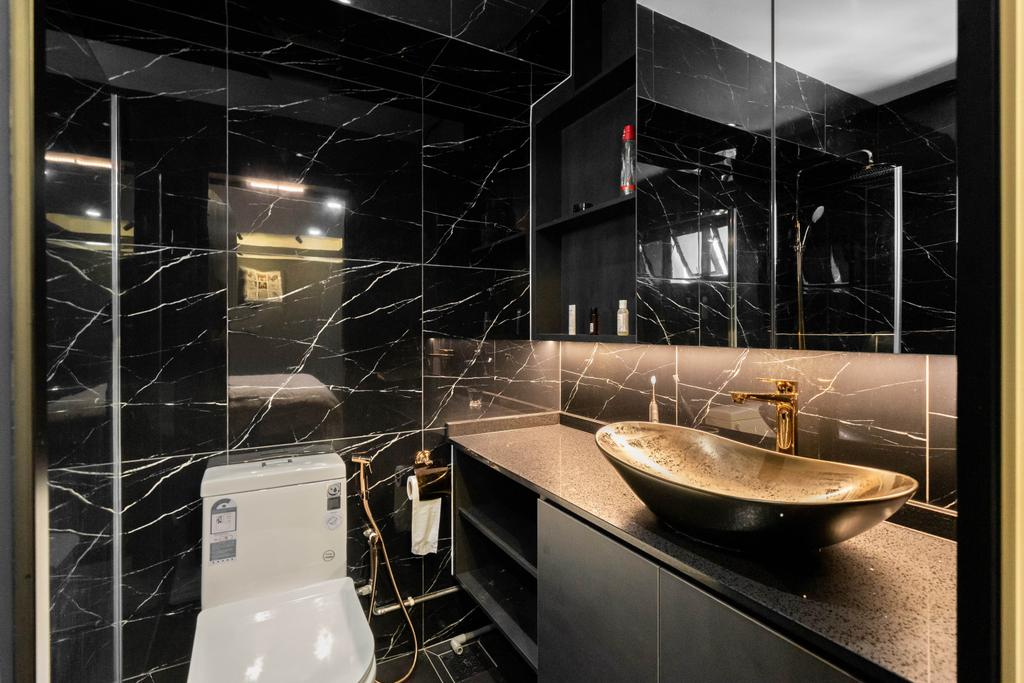 Modern, HDB, Bathroom, Lorong 7 Toa Payoh, Interior Designer, Design 4 Space, Contemporary