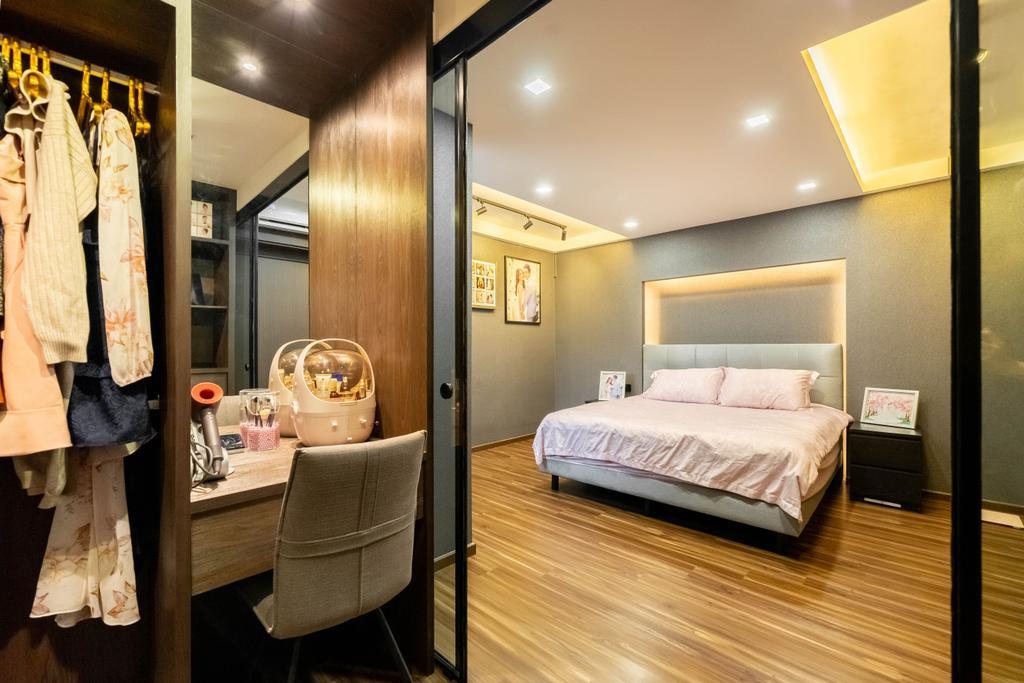 Modern, HDB, Bedroom, Lorong 7 Toa Payoh, Interior Designer, Design 4 Space, Contemporary