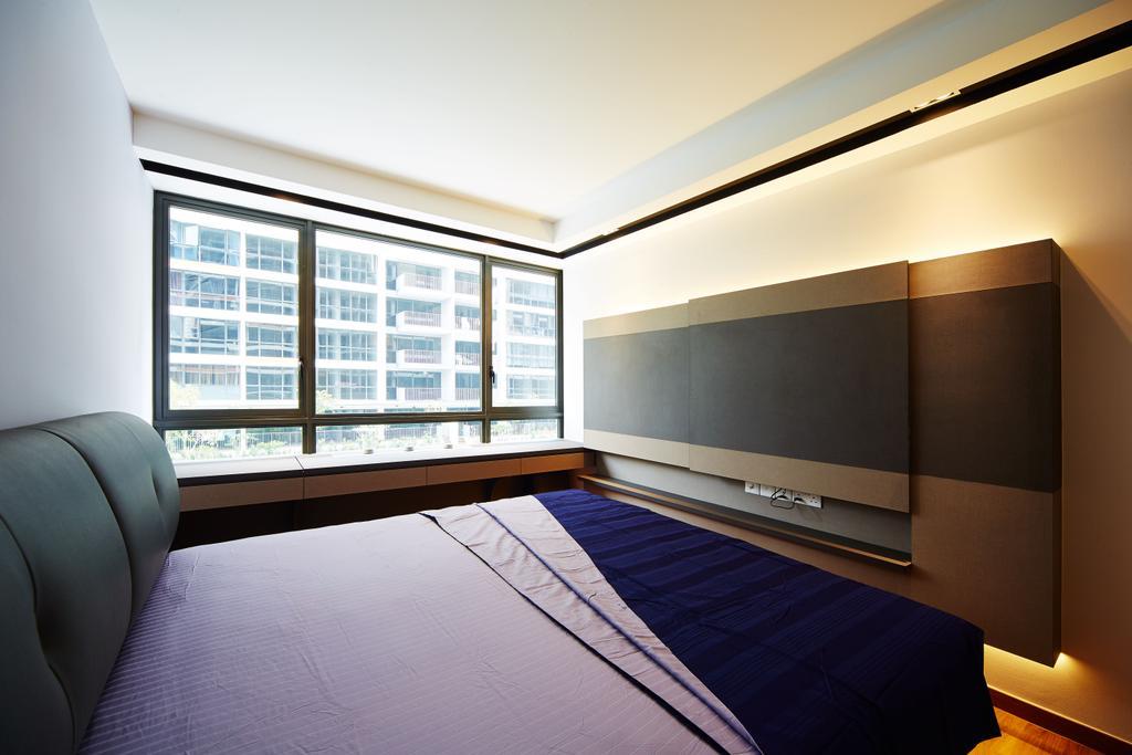 Contemporary, Condo, Bedroom, Twin Waterfalls, Interior Designer, ICAY