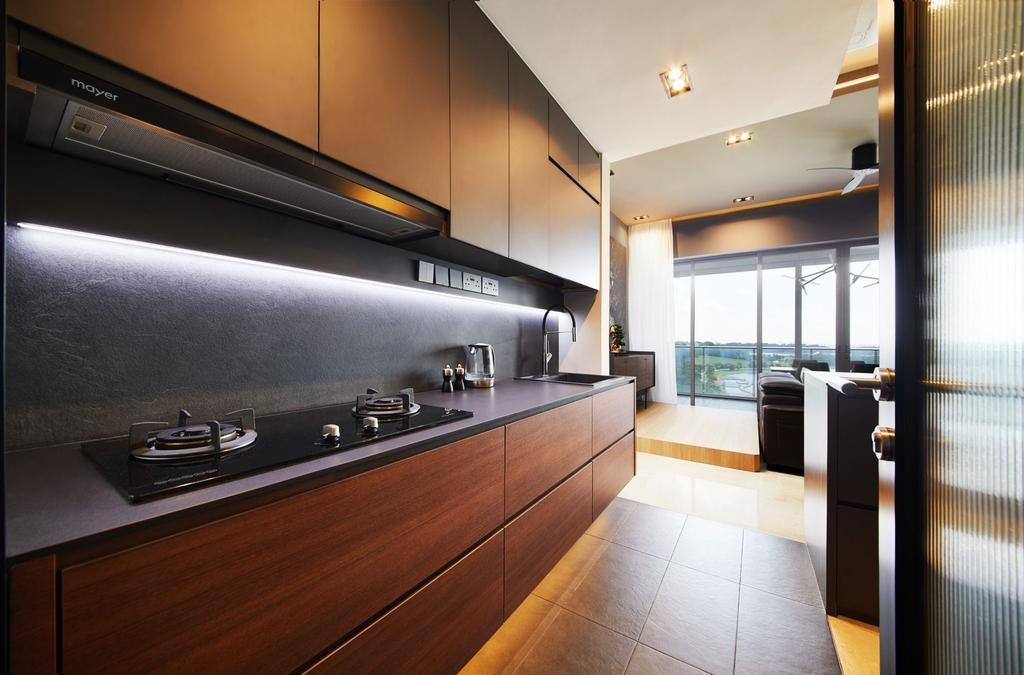 Contemporary, Condo, Kitchen, Waterfront Isle, Interior Designer, ICAY