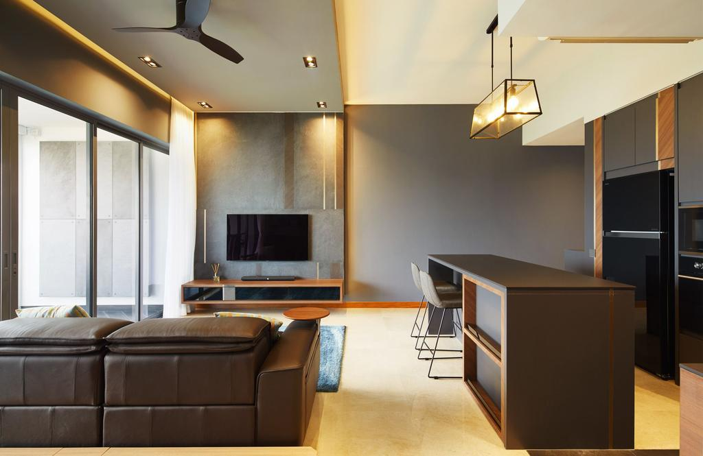 Contemporary, Condo, Living Room, Waterfront Isle, Interior Designer, ICAY