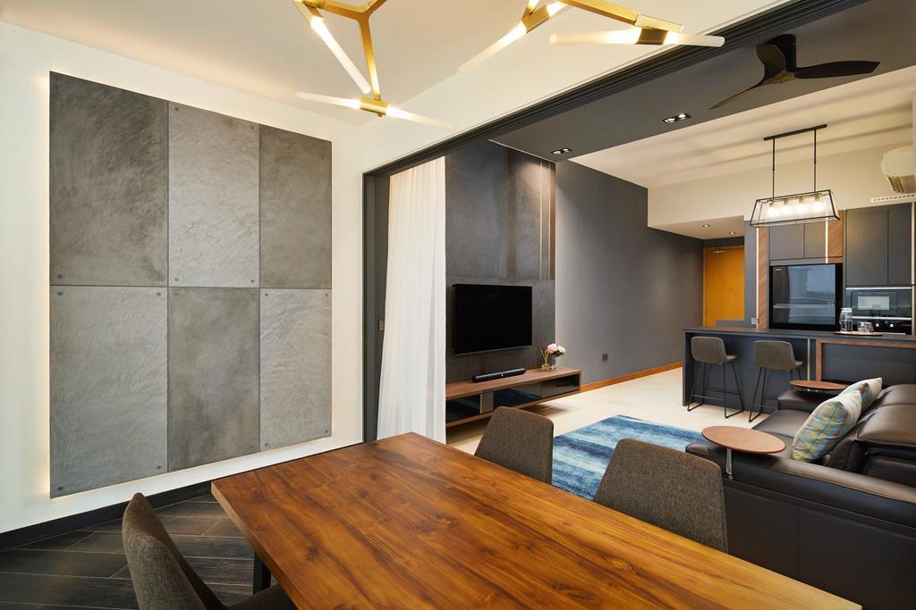 Contemporary, Condo, Dining Room, Waterfront Isle, Interior Designer, ICAY