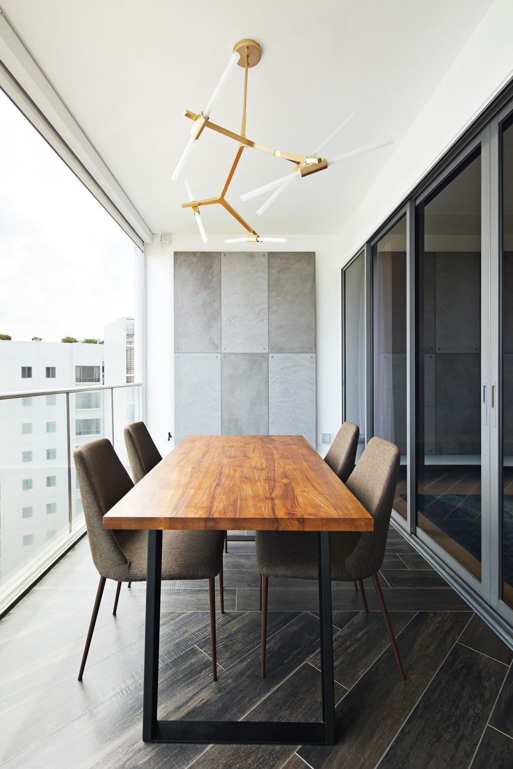 Contemporary, Condo, Balcony, Waterfront Isle, Interior Designer, ICAY