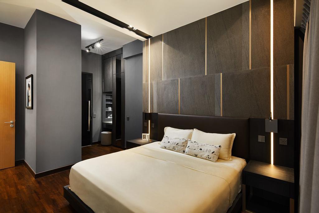 Contemporary, Condo, Bedroom, Waterfront Isle, Interior Designer, ICAY