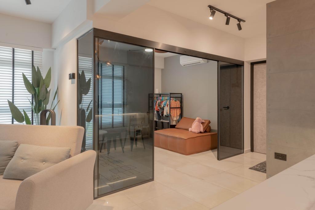 Contemporary, HDB, Northshore Drive, Interior Designer, Tab Gallery
