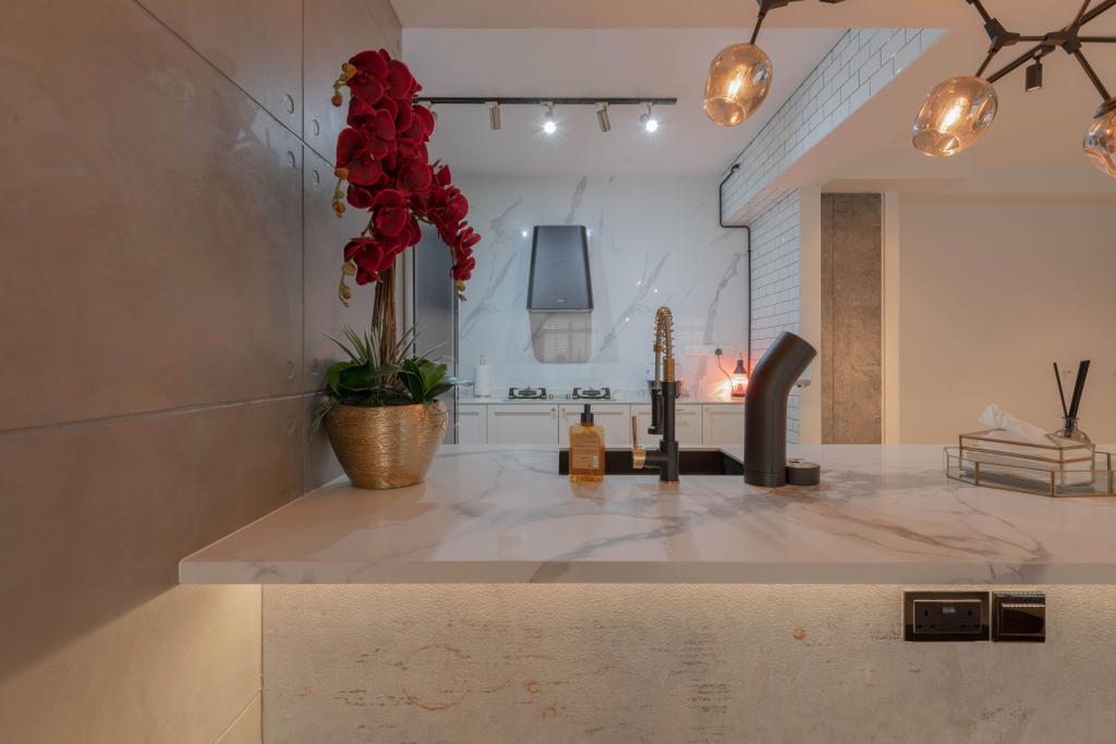 Contemporary, HDB, Kitchen, Northshore Drive, Interior Designer, Tab Gallery