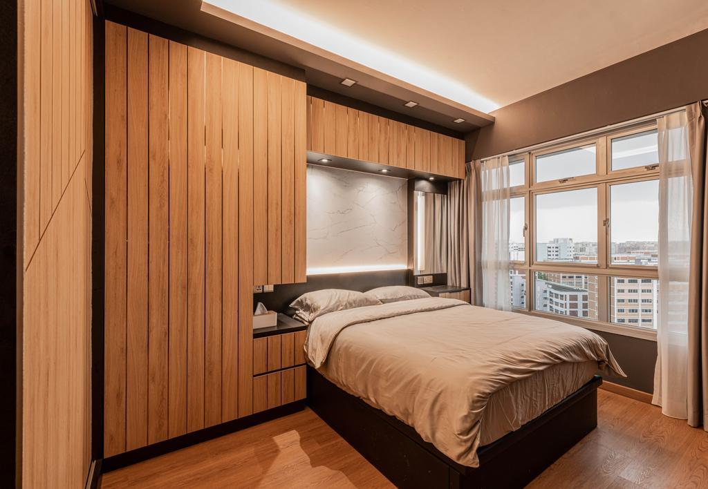 Contemporary, HDB, Bedroom, Tampines Avenue 8, Interior Designer, Tab Gallery