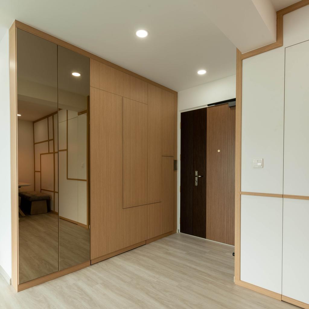 Scandinavian, HDB, Living Room, Hougang Street 32, Interior Designer, Glamour Concept