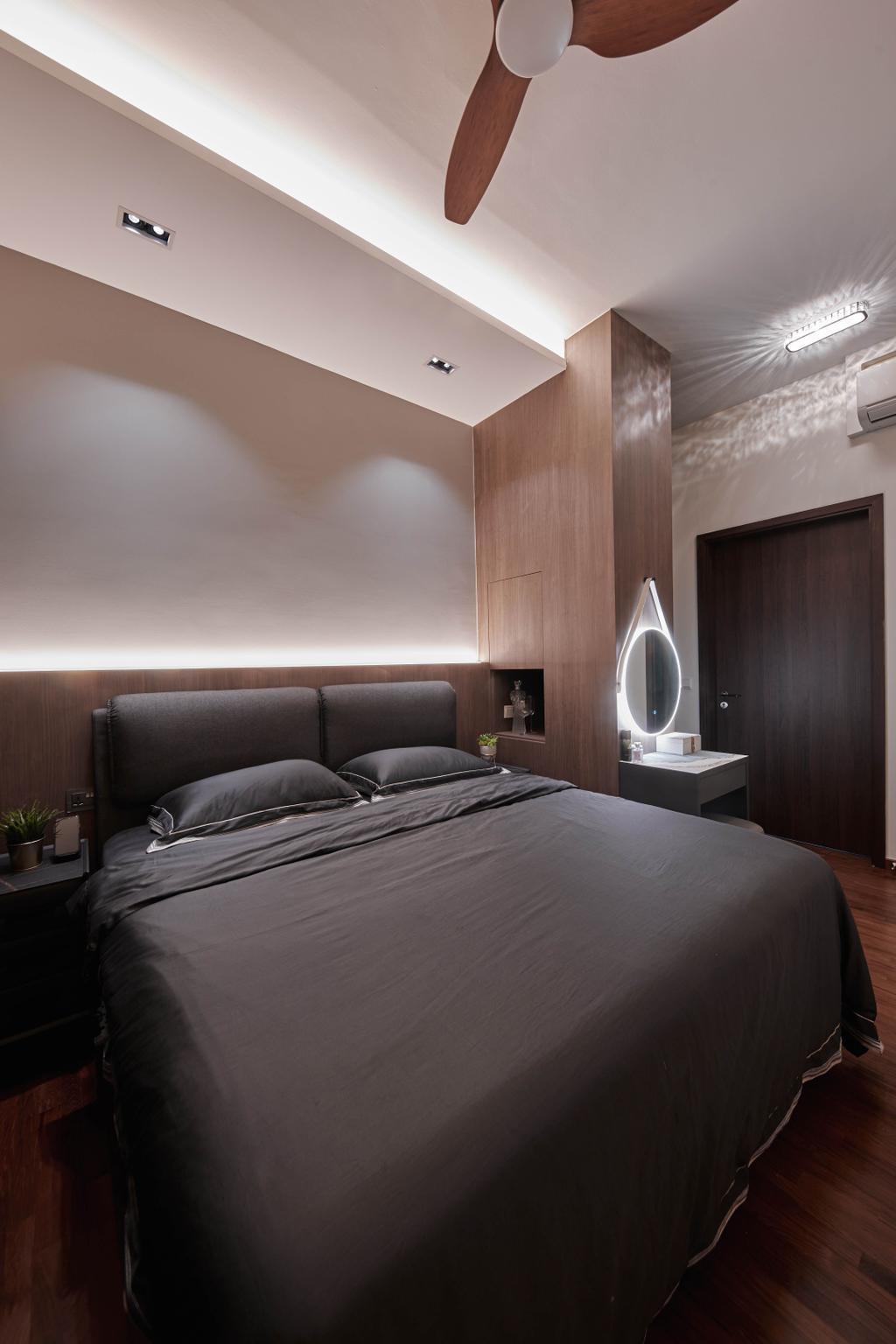 Contemporary, Condo, Bedroom, Signature At Yishun, Interior Designer, MET Interior