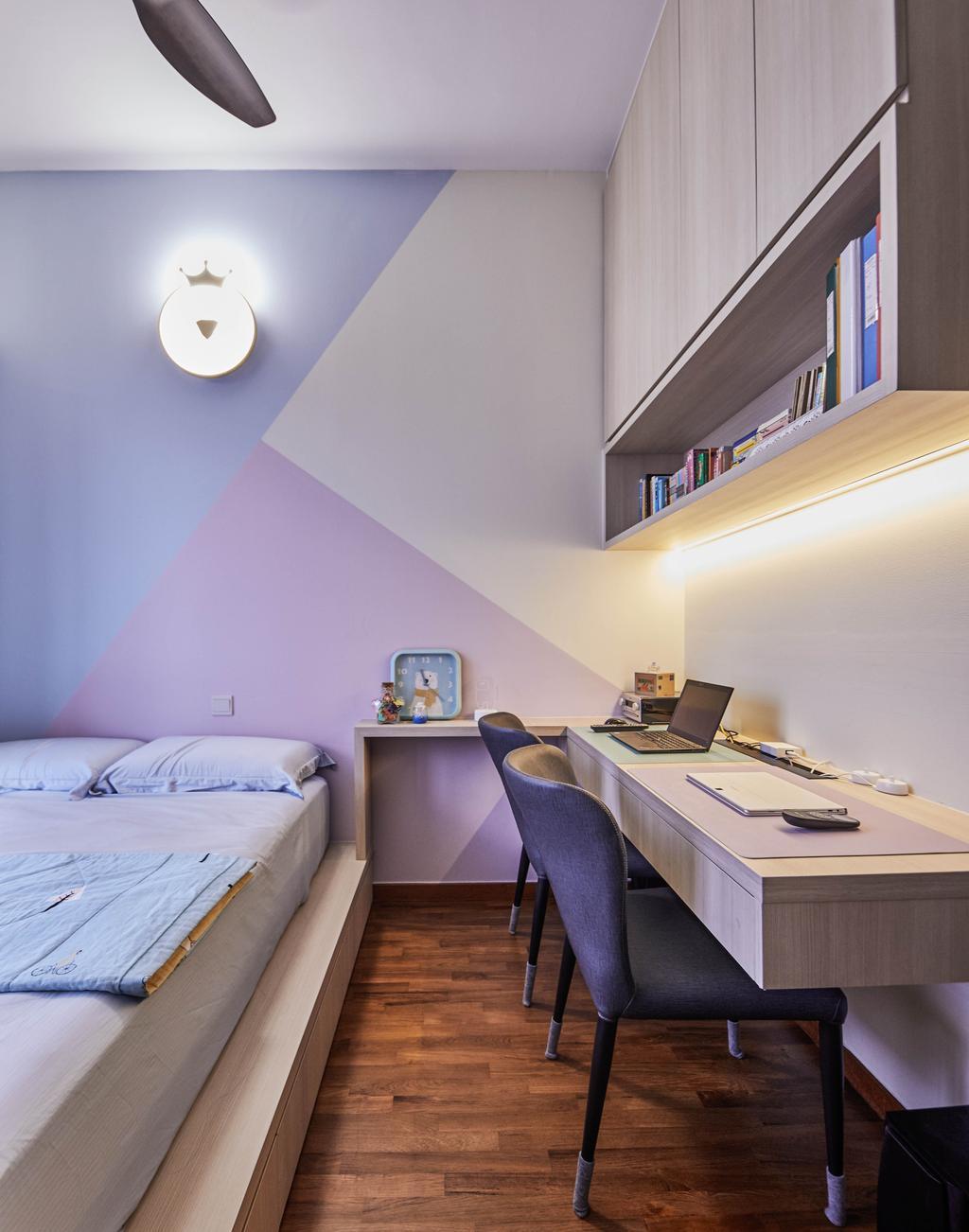 Contemporary, Condo, Signature At Yishun, Interior Designer, MET Interior