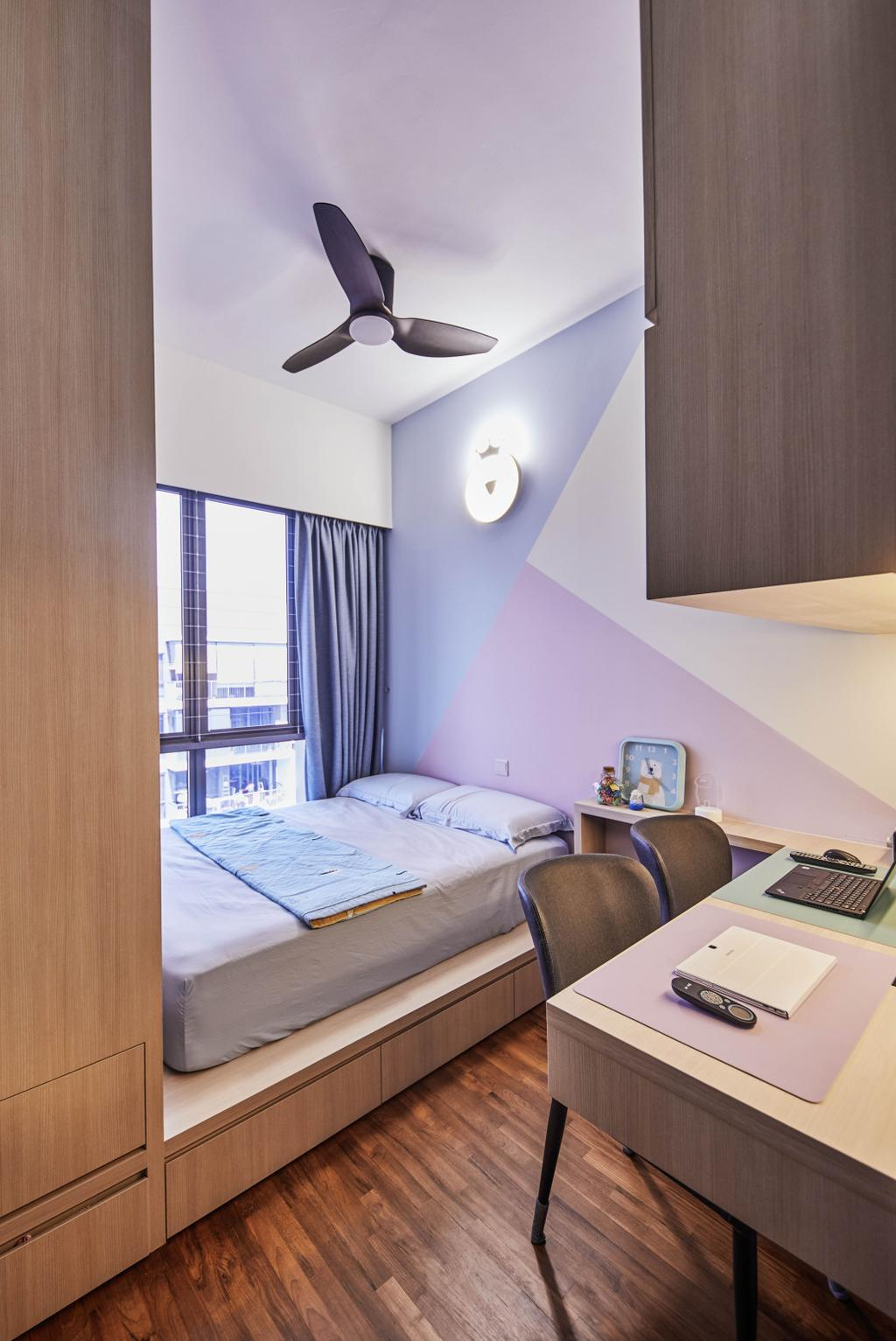 Contemporary, Condo, Study, Signature At Yishun, Interior Designer, MET Interior