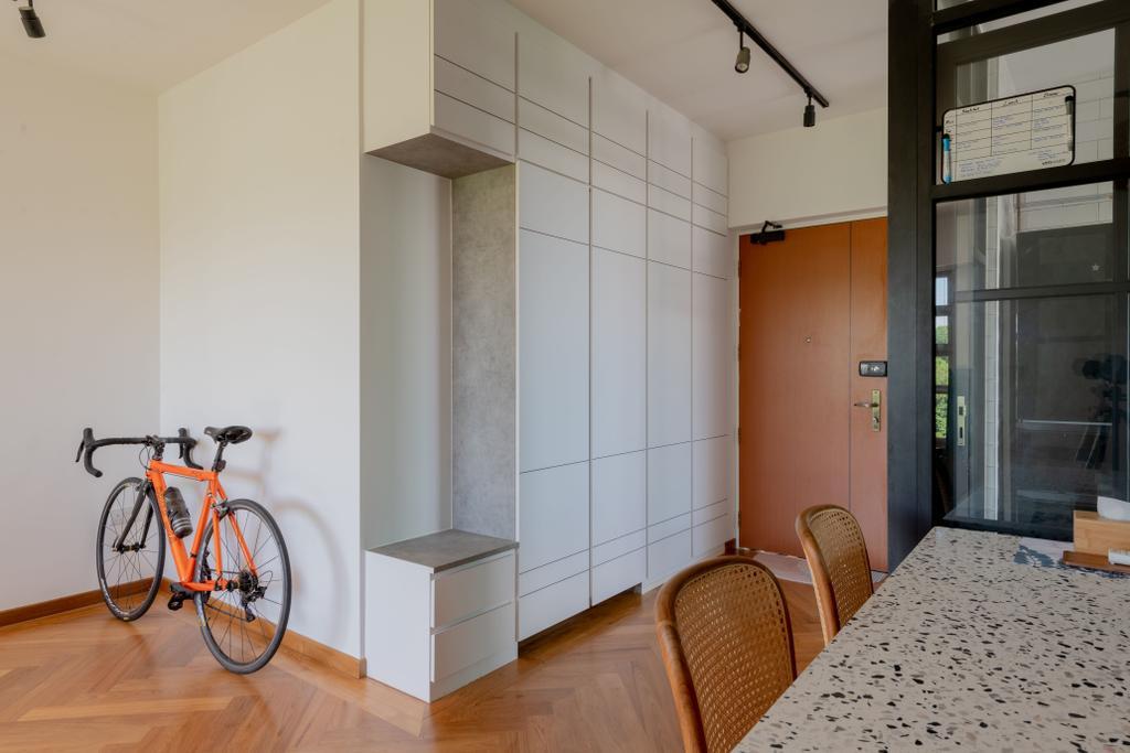 Eclectic, HDB, Dining Room, Depot Road, Interior Designer, Vika Design Lab