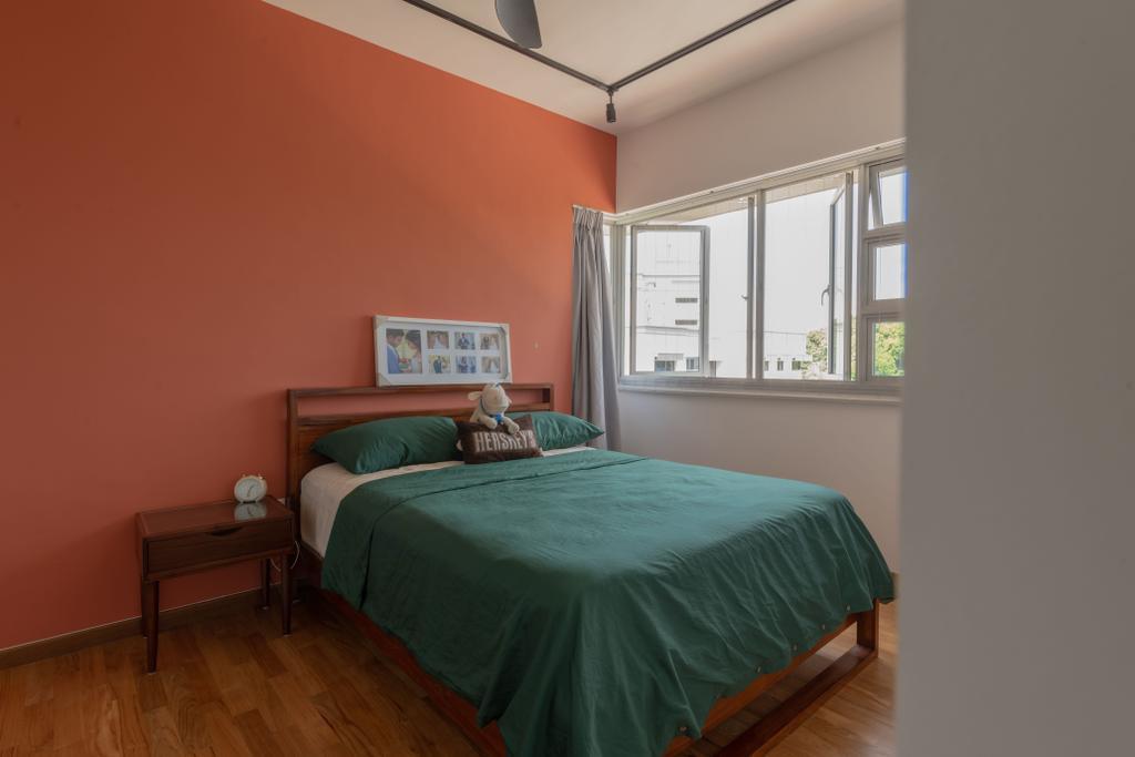 Eclectic, HDB, Bedroom, Depot Road, Interior Designer, Vika Design Lab