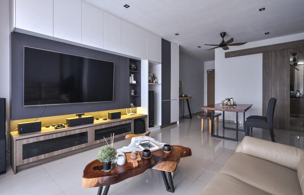 Modern, Condo, Nidoz Residence, Kuala Lumpur, Interior Designer, IQI Concept Interior Design & Renovation, Contemporary