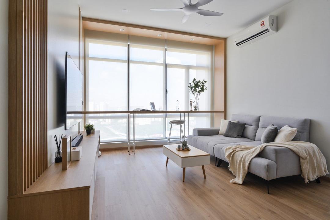 The Park, Bukit Jalil, IQI Concept Interior Design & Renovation, Minimalistic, Condo