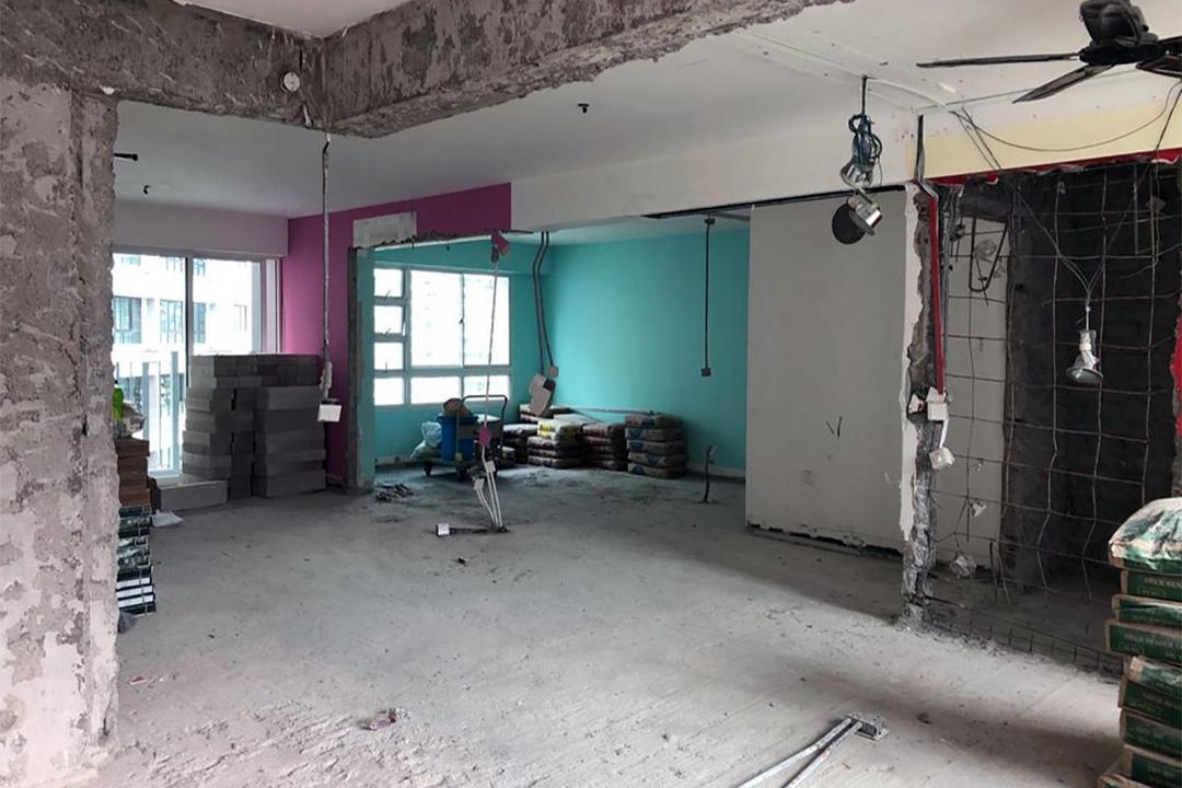 Punggol Sapphire HDB flat renovation