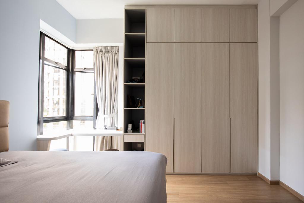 Scandinavian, Condo, Bedroom, Dover Parkview, Interior Designer, Albedo Design