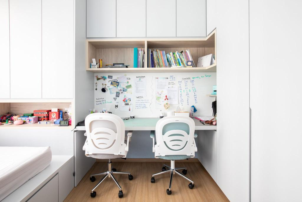 Scandinavian, Condo, Study, Dover Parkview, Interior Designer, Albedo Design