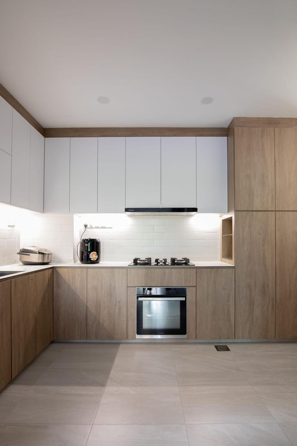Scandinavian, Condo, Kitchen, Dover Parkview, Interior Designer, Albedo Design