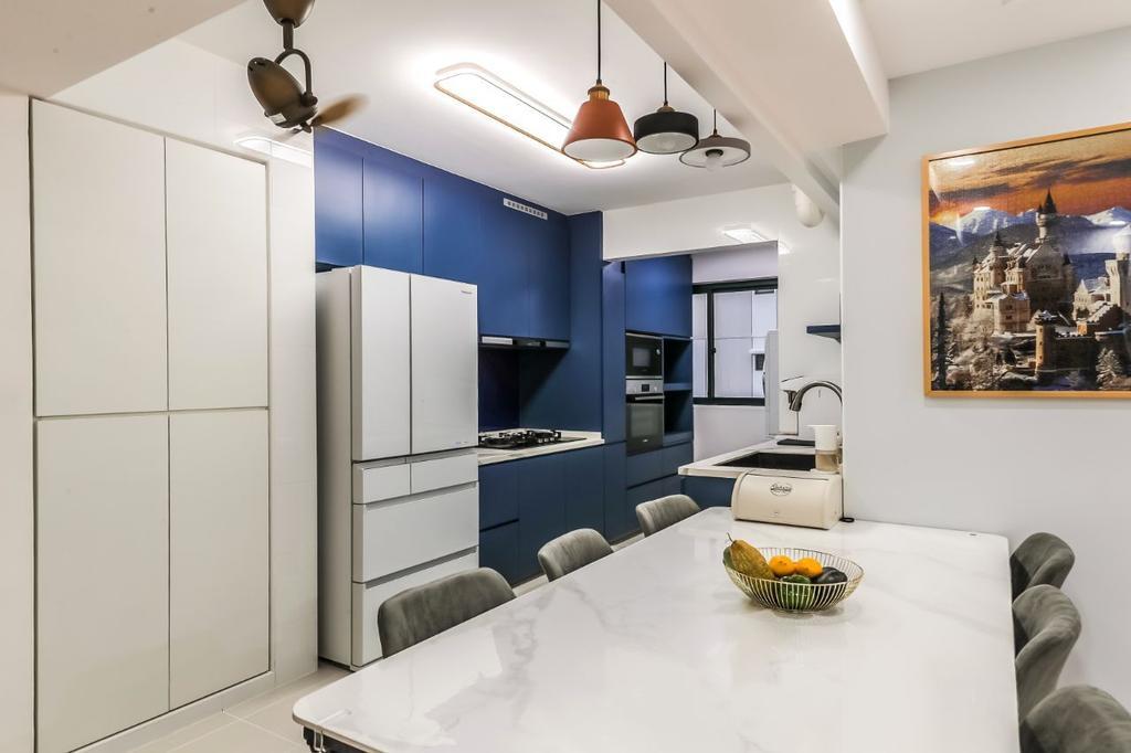 Contemporary, HDB, Kitchen, Bidadari Park Drive, Interior Designer, AC Vision Design, Scandinavian
