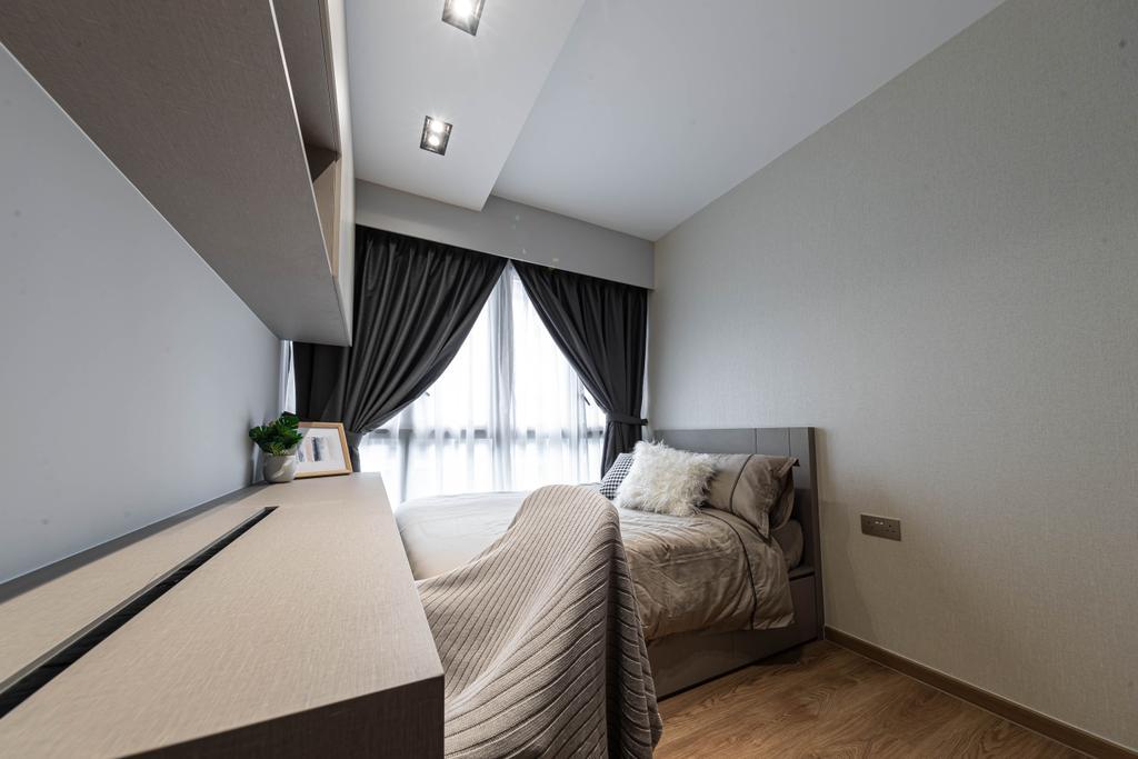 Contemporary, Condo, Bedroom, Rivercove Residences, Interior Designer, AC Vision Design