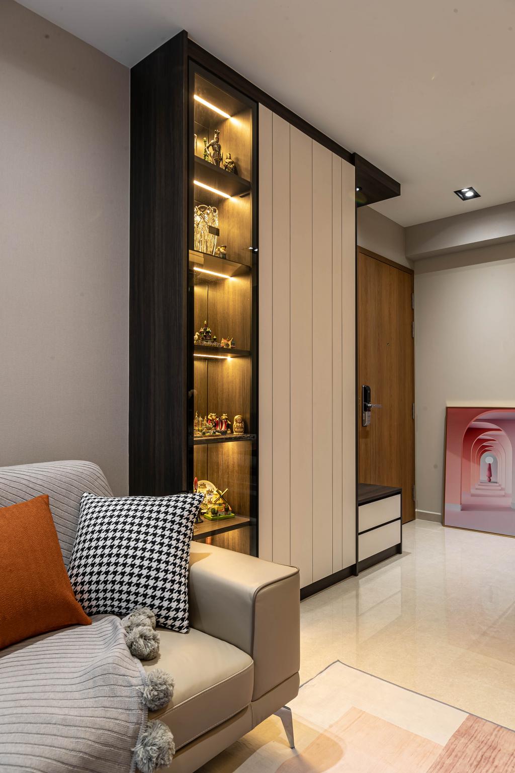 Contemporary, Condo, Living Room, Rivercove Residences, Interior Designer, AC Vision Design