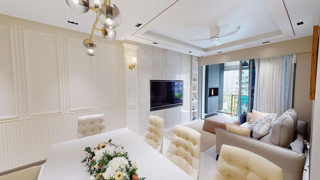 Contemporary, Condo, Dining Room, High Park Residences, Interior Designer, Eight Design