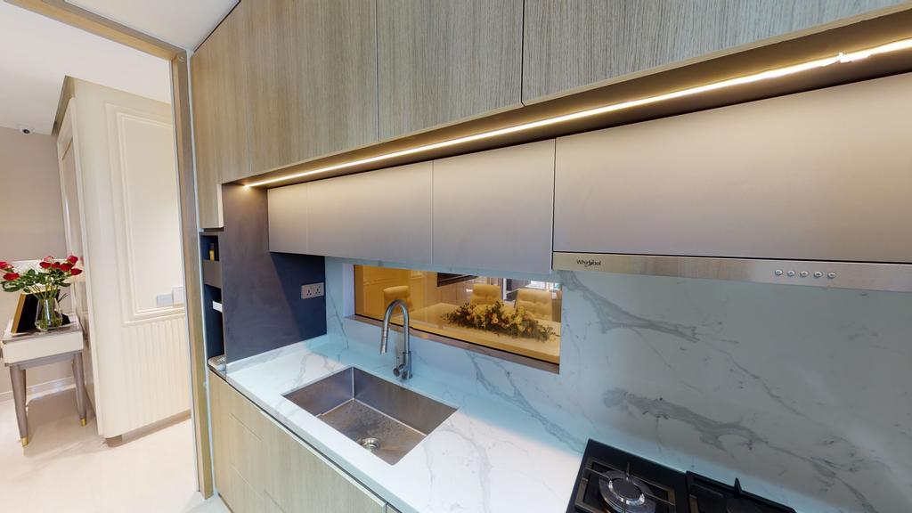 Contemporary, Condo, Kitchen, High Park Residences, Interior Designer, Eight Design