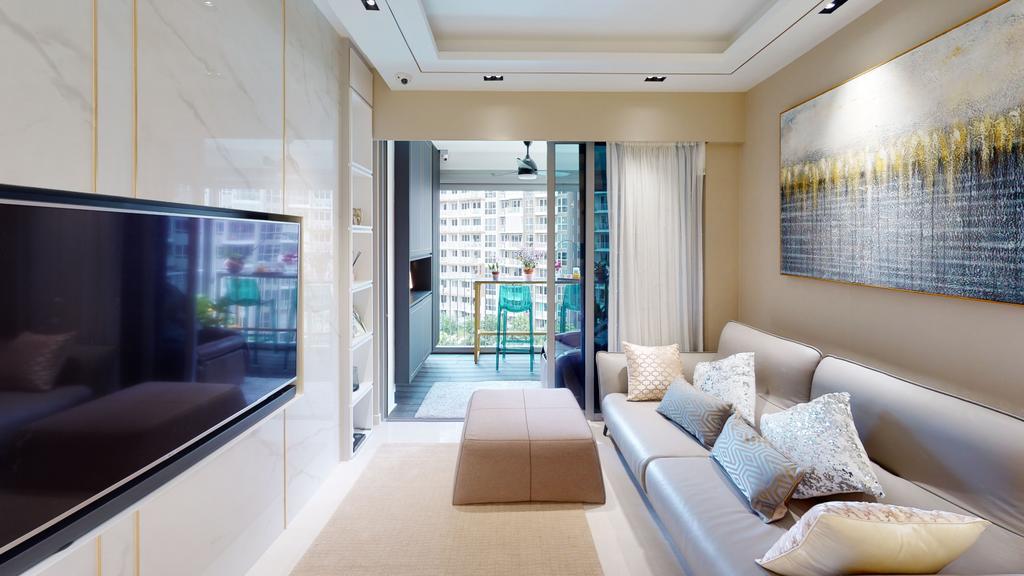 Contemporary, Condo, Living Room, High Park Residences, Interior Designer, Eight Design