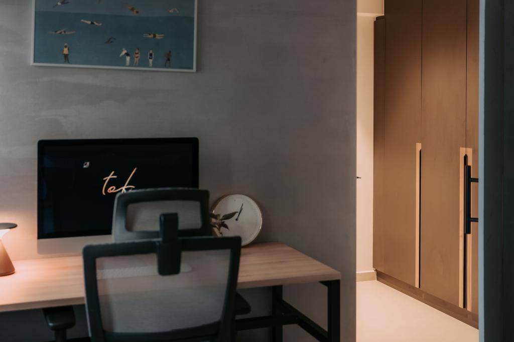 Scandinavian, HDB, Study, Lorong Lew Lian, Interior Designer, Key Concept