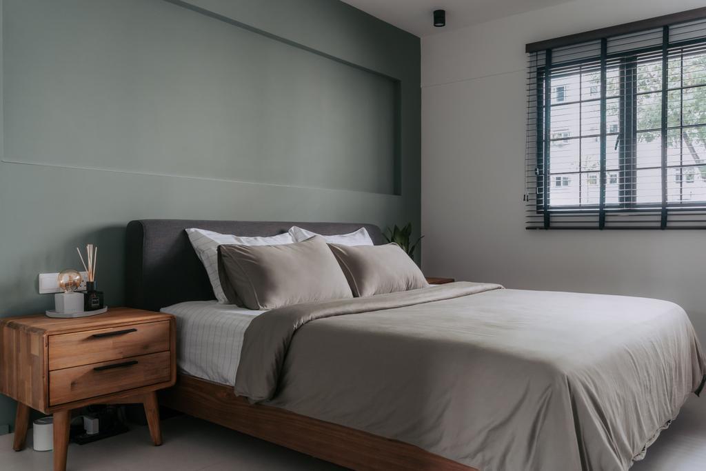 Scandinavian, HDB, Bedroom, Lorong Lew Lian, Interior Designer, Key Concept