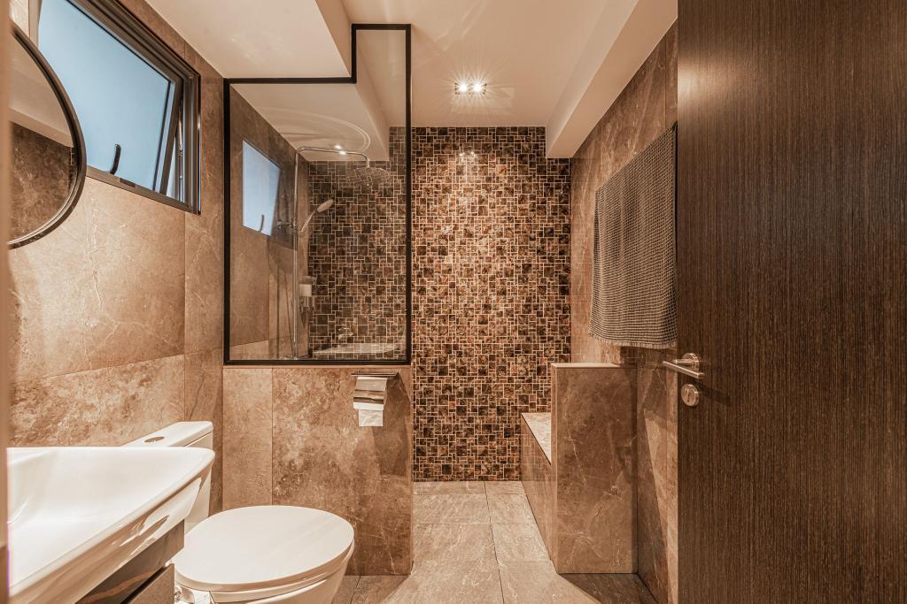 Contemporary, HDB, Bathroom, Clementi Avenue 4, Interior Designer, Mr Designer Studio
